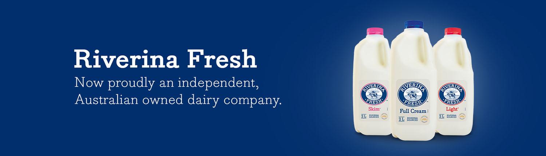 Riverina Fresh - 100% Australian Owned Dairy & Milk Company