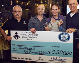 International Grand Latte Art Championship award money
