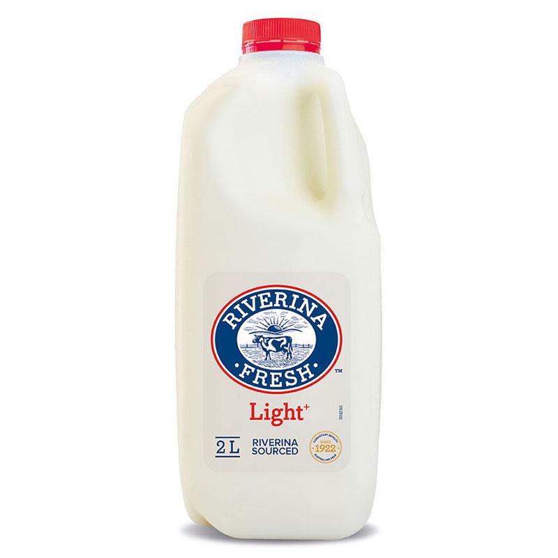Riverina Fresh - Light milk
