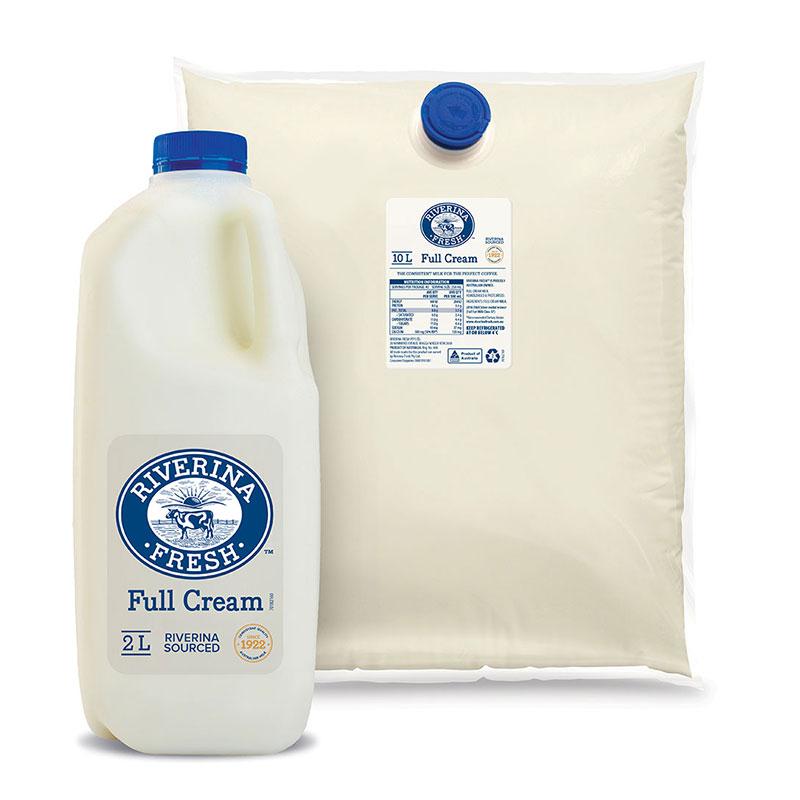 Riverina Fresh - Full Cream cafe milk