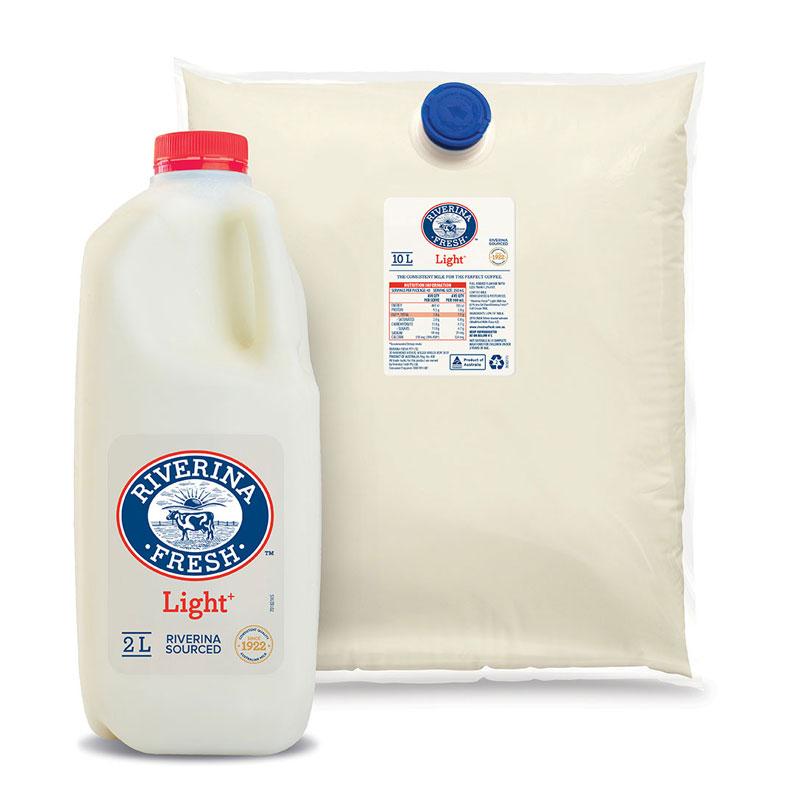Riverina Fresh - Light cafe milk