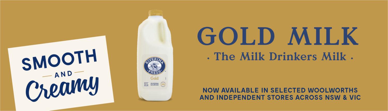 Riverina Fresh - Gold café milk