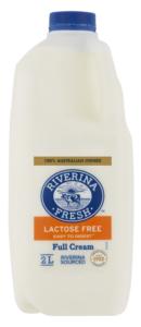 Riverina Fresh Lactose Free Full Cream Milk