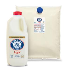 RIverina Fresh Light Milk 10L